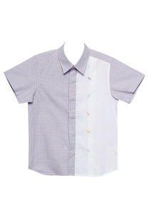 lavender-white-cotton-cross-stitched-semi-formal-shirt