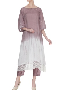 red-maroon-shibori-dyed-hand-embroidered-kurta-with-pants