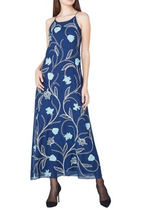 blue-hand-embroidered-maxi-dress