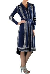 blue-viscose-hand-embroidered-applique-dress