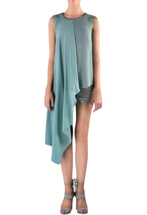 pine-grey-viscose-embellished-asymmetric-blouse