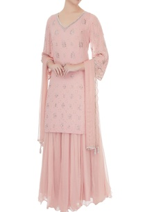 old-rose-embroidered-georgette-net-kurta-with-georgette-flared-pants-net-dupatta