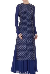 navy-blue-embroidered-georgette-dress-with-georgette-jacket
