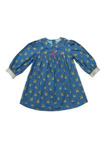 blue-cotton-pink-bow-detail-dress