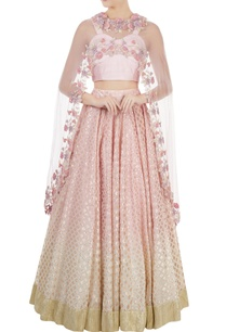 lilac-dupion-silk-dori-sequin-blouse-with-chanderi-lehenga-net-cape