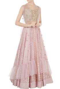 lilac-dupion-silk-embroidered-blouse-with-chanderi-lehenga-net-jacket