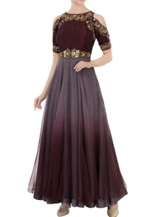 grey-wine-dupion-silk-embroidered-gown