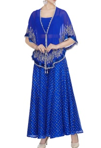 bright-blue-georgette-pearl-sequin-embroidered-cape-set