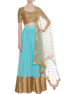 sky-blue-georgette-lehenga-with-gold-cutwork-blouse