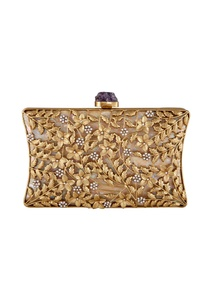 gold-plated-floral-motif-evening-clutch