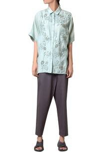 sea-green-silk-voile-floral-embroidered-shirt