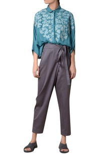 charcoal-grey-cotton-tie-up-trousers