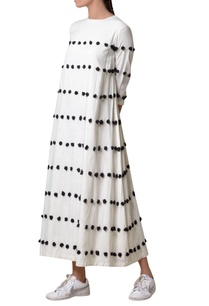 off-white-viscose-slub-machine-embroidered-maxi-dress
