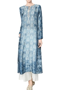 blue-modal-silk-printed-karvi-tunic