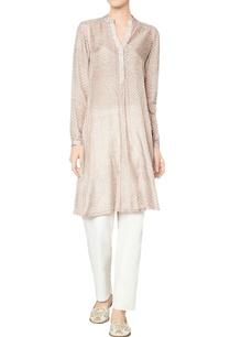 oak-brown-modal-silk-printed-hanika-tunic