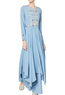 blue-cotton-georgette-ayaani-anarkali-with-palazzos
