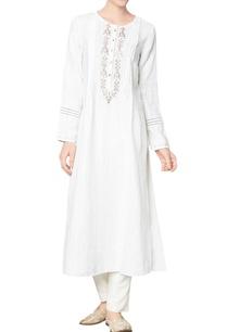 white-linen-dobby-sequin-anantya-kurta