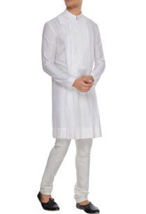 white-spun-silk-kurta-with-lace-yoke