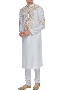 ivory-spun-silk-jaal-resham-embroidered-kurta-churidar