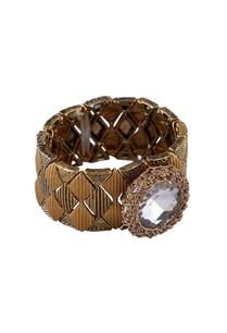 gold-white-alloy-crochet-bracelet