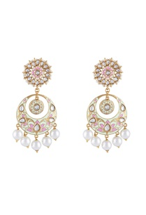 multi-colored-alloy-meenakari-chaandbali-with-pearl-drops
