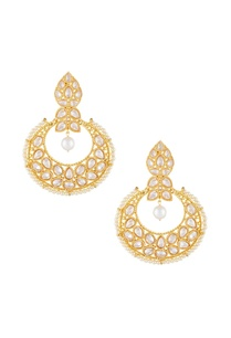 gold-white-alloy-big-uncut-chaandbala-earring
