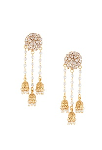 gold-white-alloy-3-jhumka-uncut-studed-earring