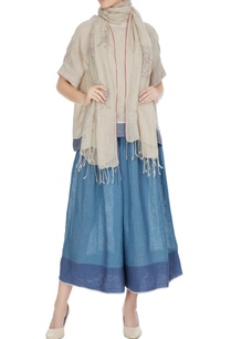 natural-linen-floral-hand-block-printed-stole