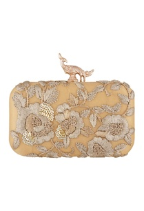 gold-silk-hand-embroidered-sling-clutch