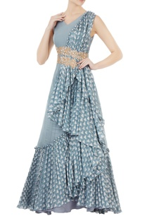 blue-waterfall-drape-anarkali