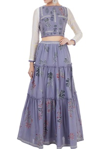 lavender-blue-crop-top-with-tiered-maxi-skirt