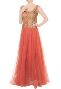 peach-net-zari-embroidered-gown