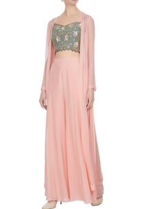 rose-pink-grey-georgette-crepe-bead-sequin-embroidered-blouse-palazzo-pants-cape