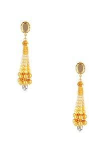 gold-plated-tarun-tahiliani-long-tassel-earrings