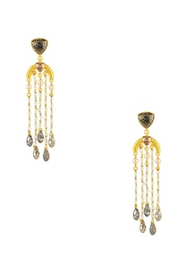gold-plated-briolette-crystal-drop-earrings