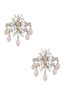 gold-plated-earrings-with-dangling-swarovski-crystals
