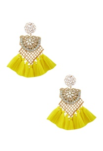 gold-plated-earrings-with-swarovski-crystals-pearls-yellow-tassels