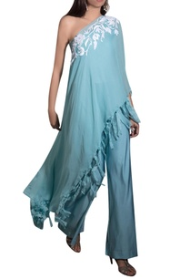 blue-georgette-lycra-hand-embroidered-jumpsuit