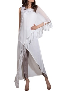 white-georgette-crinkle-satin-hand-embroidered-cape-with-kurta-pants