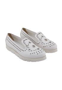 white-synthetic-eyelet-shoes
