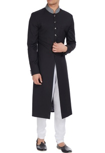 embroidered-collar-sherwani-with-regimental-buttons
