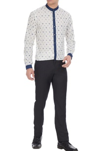 white-blue-printed-cotton-shirt-with-denim-collar