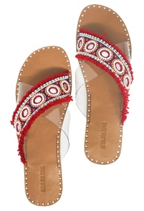 red-tassel-bead-embellished-criss-cross-sandals