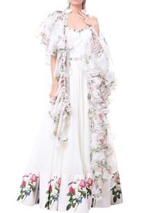 white-anarkali-gown-with-ruffle-organza-dupatta