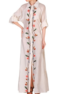 ivory-cotton-silk-thread-zari-work-dress