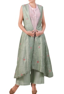 teal-blue-raw-silk-thread-embroidered-jacket-with-palazzos-pink-inner