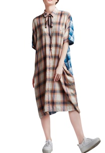 multi-colored-cotton-oversized-kaftan-dress