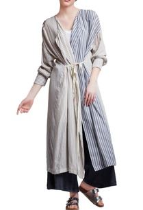 multi-colored-cotton-regular-pleated-wrap-jacket