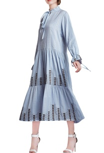 light-blue-cotton-oversized-hand-embroidered-gathered-dress