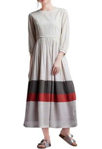 multi-colored-cotton-regular-paneled-gathered-dress